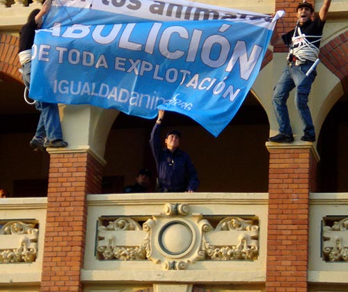 timeline_500x420_bullfighting_banner_zaragoza_2008_spain
